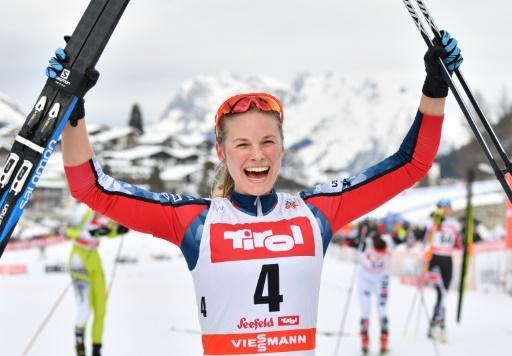 Ski de fond: Diggins remporte la mass-start de Seefeld avant les Jeux