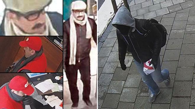 Trois vols à main armée dans des bijouteries à Ixelles: reconnaissez-vous ces hommes?