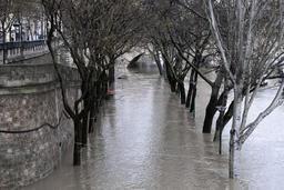 Les inondations vont se multiplier en Europe, d'après une étude