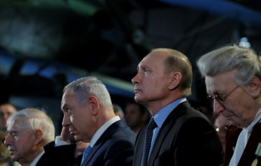 A Moscou, Netanyahu rend hommage aux victimes des nazis et s'en prend à l'Iran