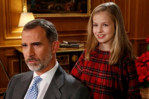 Espagne: le roi fête ses 50 ans auprès de son héritière, en pleine crise catalane