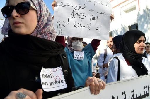 Algérie: un millier de médecins