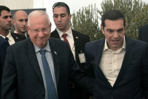 Grèce: le président israélien Rivlin sur les lieux d'un futur musée de la Shoah
