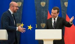 Medvedev juge la démarche de Michel d'ouverture du dialogue