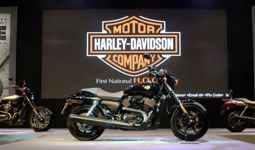 Harley-Davidson dérape à Wall Street après de mauvais résultats