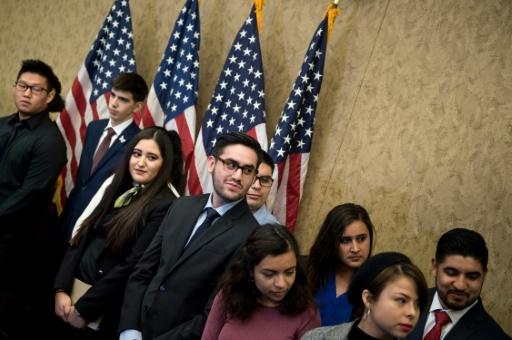 Des sans-papiers au premier rang du discours de Trump au Congrès