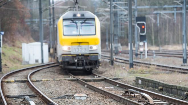 Trafic ferroviaire perturbé avant Soignies ce matin: