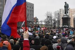 Présidentielle en Russie - Deux collaborateurs d'Alexeï Navalny condamnés à des peines de prison