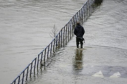 Crue de la Seine: 150 habitants évacués près de Rouen