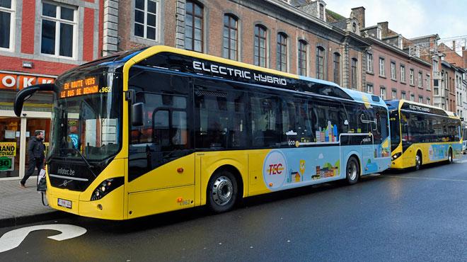 Le TEC utilise des bus hybrides depuis un an à Namur: le bilan est positif, le voici