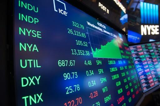 Wall Street termine en ordre dispersé, forte tension sur les taux