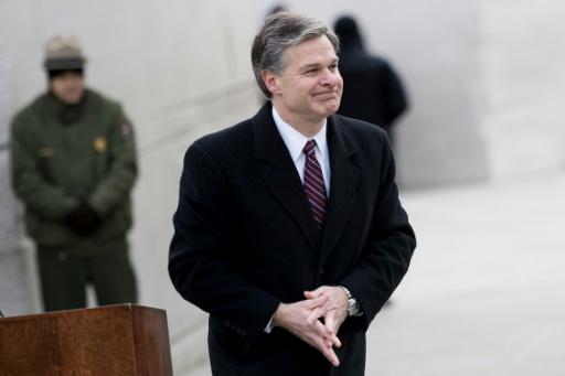 Christopher Wray, nouveau directeur du FBI, prêt à aller au conflit avec Trump