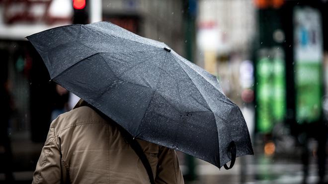 Prévisions météo: des averses hivernales accompagnées de grésil et d'un coup de tonnerre
