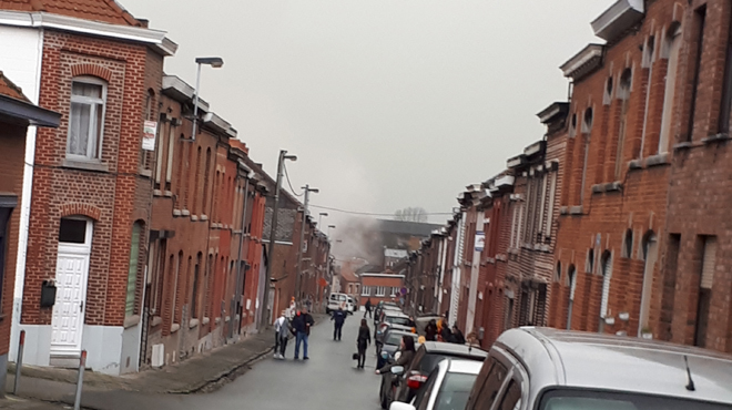 Importante fuite de gaz suivie d'un incendie à Jemappes: