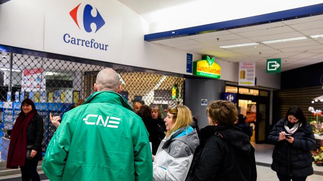 Plan de restructuration de Carrefour: voici les hypermarchés qui seront fermés ce samedi en Wallonie