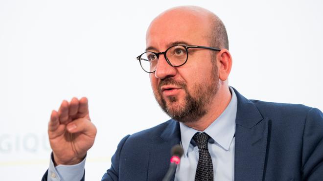 Charles Michel adresse un message aux migrants en situation irrégulière... et à leurs hébergeurs