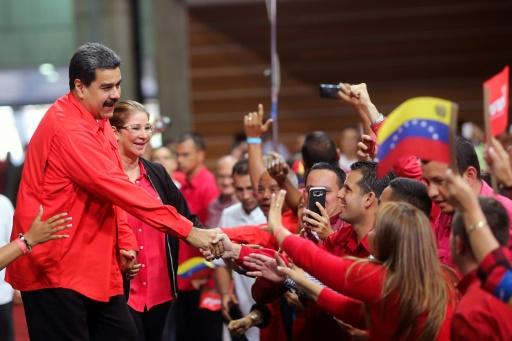 Venezuela: le président Maduro, candidat