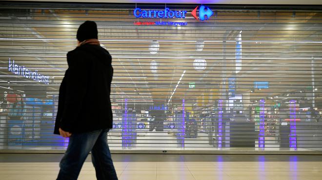 Plan de restructuration de Carrefour: quatre hypermarchés fermés ce samedi