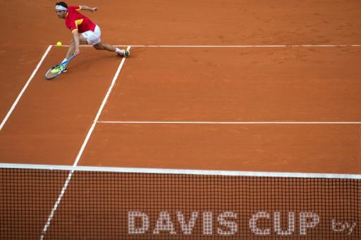 Coupe Davis: Ramos qualifie l'Espagne face aux Britanniques