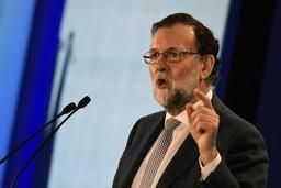 Rajoy demande aux séparatistes de désigner un candidat qui respecte la loi