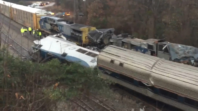 Accident ferroviaire en Caroline du Sud: au moins 2 morts et de nombreux blessés