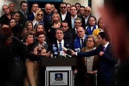 Le président sortant Anastasiades donné vainqueur à Chypre