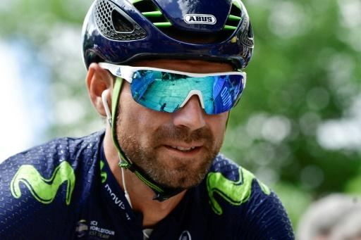 Cyclisme: triplé de Valverde dans le Tour de Valence pour son grand retour
