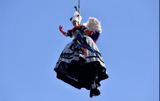 Coup d'envoi du Carnaval de Venise avec le