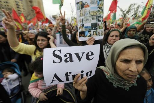 Liban: des centaines de Kurdes manifestent contre l'offensive turque en Syrie