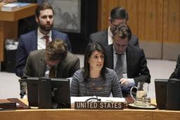 Conflit en Syrie - Affrontement russo-américain à l'ONU sur les armes chimiques