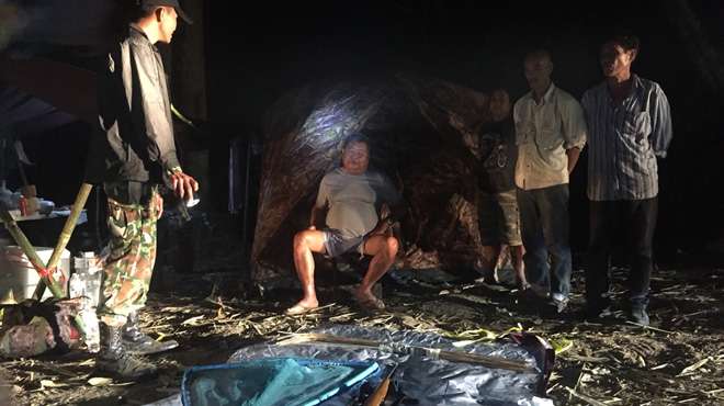 Cet homme d'affaire thaïlandais chassait des animaux protégés comme le léopard noir