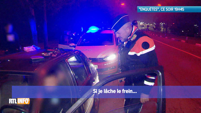 Echange surréaliste entre un policier et un automobiliste lors d'un contrôle: