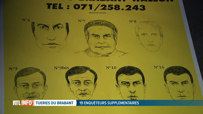Plus de 800 nouvelles informations sur les tueries du Brabant: le nombre d'enquêteurs va TRIPLER