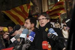Crise en Catalogne - Puigdemont a participé à un rassemblement en son soutien à Louvain