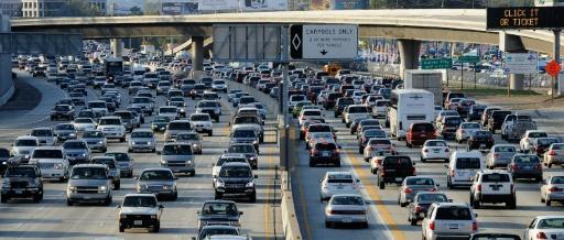 Los Angeles, Moscou et New York, villes les plus embouteillées au monde (étude)