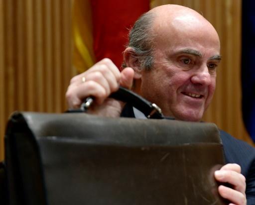 Vice-présidence BCE: le ministre de l'Economie espagnol candidat