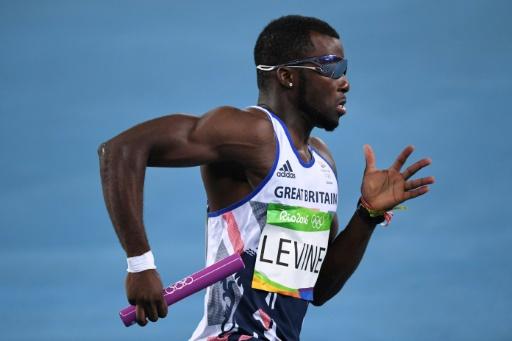 Athlétisme: Nigel Levine suspendu provisoirement après un test antidopage positif