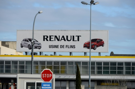 Neige: les usines Renault Flins et PSA Poissy à l'arrêt