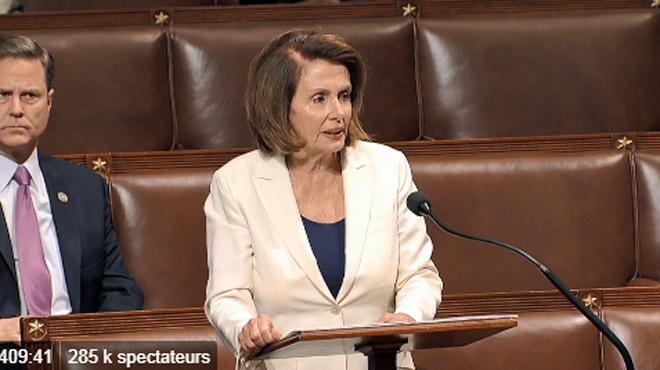 Pendant plus de huit heures, une démocrate défend les clandestins au Congrès — États-Unis