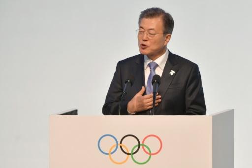 JO: le président sud-coréen Moon va rencontrer le chef de l'Etat nord-coréen et la soeur de Kim