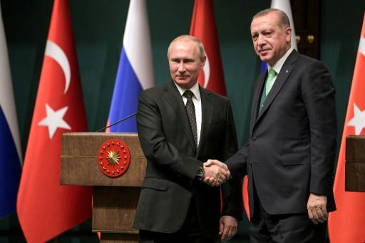 Syrie: Erdogan et Poutine conviennent d'un sommet Turquie-Russie-Iran à Istanbul