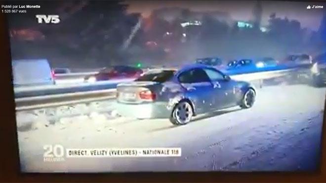 Les reportages sur la neige à Paris font bien rire les Québecois
