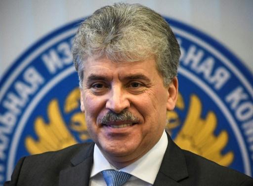 Russie: Groudinine, le communiste millionnaire qui veut être président