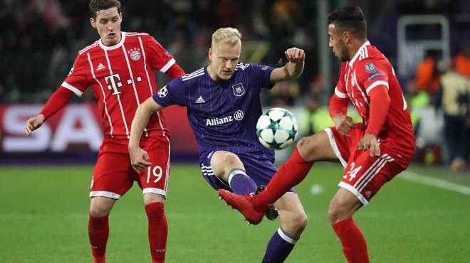 L'UEFA sanctionne Anderlecht: le club devra rembourser les supporters du Bayern