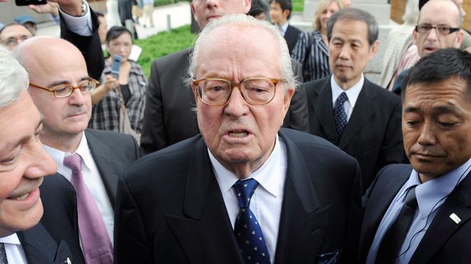 La cour d'appel confirme l'exclusion de Jean-Marie Le Pen du Front national