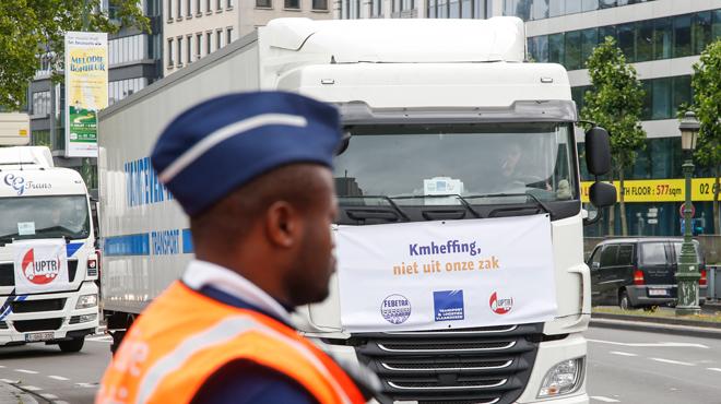 Révolution en vue à Bruxelles: l'accès au centre de la ville interdit aux poids lourds