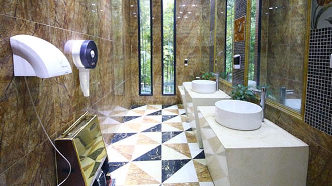 DÉGOÛTANT: elle glisse une boîte de Petri pendant minutes dans un sèche-mains automatique de toilettes publiques...