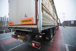L'accès au centre de Bruxelles interdit aux poids lourds