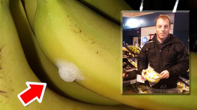 Raphael découvre ce COCON sur une banane en revenant du supermarché: un spécialiste des araignées rassure