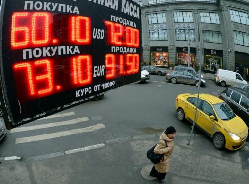 Russie: la banque centrale abaisse son taux, s'inquiète de l'